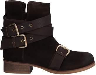 Manila Grace DENIM Ankle boots