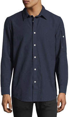 G Star G-Star Stalt Clean Lightweight Premium Denim Shirt