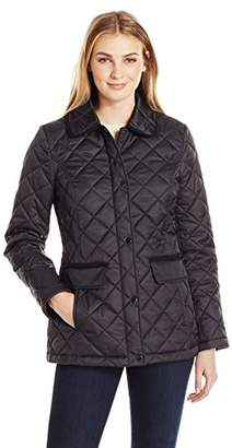 Lark & Ro Women's Quilted Barn Jacket