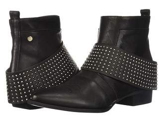 Manila Grace Studded Booties
