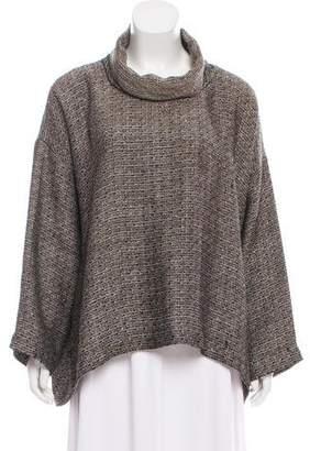 eskandar Oversize Linen-Blend Sweater