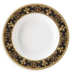Nero Rim Soup Plate