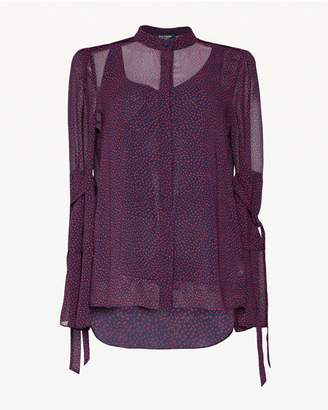 Juicy Couture Ditsy Floral Flirty Top