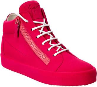 Giuseppe Zanotti Velvet Sneaker
