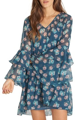 Women's Billabong Stevie Sunday Ruffle Print Dress $59.95 thestylecure.com