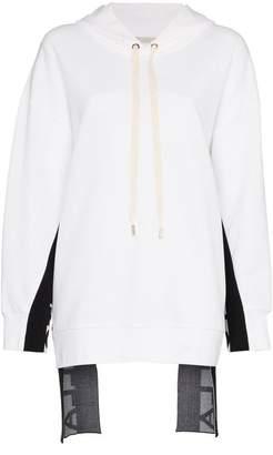 Stella McCartney logo stripe hoodie