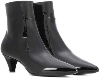 Calvin Klein Kat patent leather ankle boots