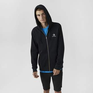 Converse Star Chevron Embroidered Mens Full-Zip Hoodie
