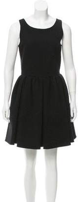Alaia Embroidered Wool Dress w/ Tags