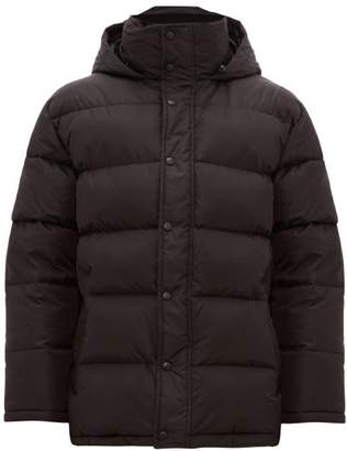 Wardrobe.Nyc Wardrobe.nyc - Hooded Quilted Down Jacket - Mens - Black