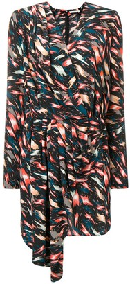 Givenchy asymmetric printed dress