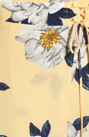 Women's J.o.a. Floral Faux Wrap Slipdress 2