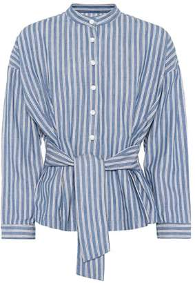 Citizens of Humanity Steffy striped cotton blouse