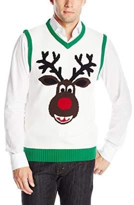 Ugly Christmas Sweater Men's Reindeer Vest