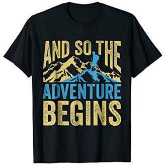 Funny Camping Adventure T-shirt Perfect Family Camp Lovers