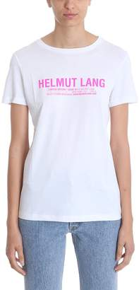 Helmut Lang Fitted Crew Neck T-shirt