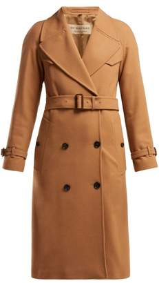 Burberry Cranston Wool Blend Trench Coat - Womens - Beige