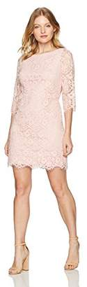 Jessica Howard Women's Petite Lace Shift Dress