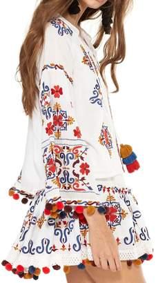 MISA Women's Maylee Top - White Multi
