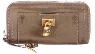 Chloé Leather Paddington Wallet