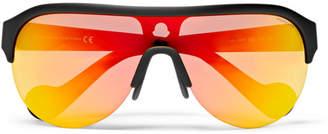 Moncler Matte-Acetate Ski Sunglasses