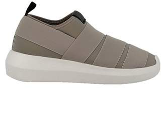 Fessura Grey Fabric Sneakers