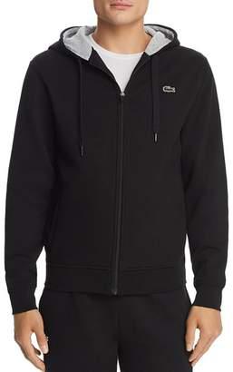Lacoste Zip Hooded Sweatshirt