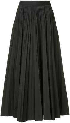 Maison Margiela pleated flared skirt