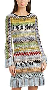Missoni Women's Rhombus-Pattern Cotton-Blend Dress