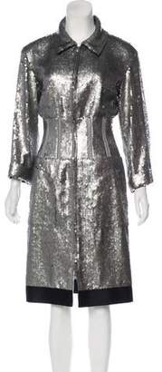 Chanel Sequin Knee-Length Dress w/ Tags