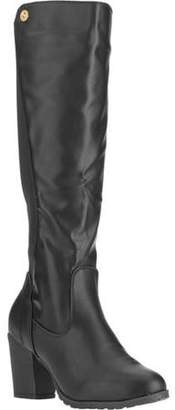 FOREVER YOUNG Forever Young Women's Elastic Back Seam Tall Boot