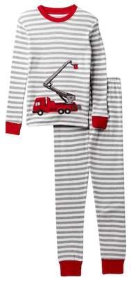 Sara's Prints Long John Cotton Pajamas (Baby, Toddler, Little Kid, & Big Kid)