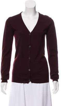 Miu Miu Knit Long Sleeve Cardigan