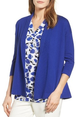 Women's Chaus Cotton Cardigan $79 thestylecure.com
