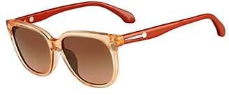 Calvin Klein Women's Square Translucent Sunglasses
