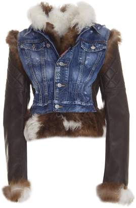 DSQUARED2 Quilted Sleeve Jacket