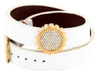 1884 Collection 18K Diamond Slide Interchangeable Wrap Bracelet