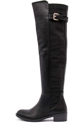 Ko fashion Irving-w Black Boots Womens Shoes Casual Long Boots