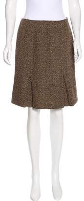 Max & Co. MAX&Co. Tweed Knee-Length Skirt