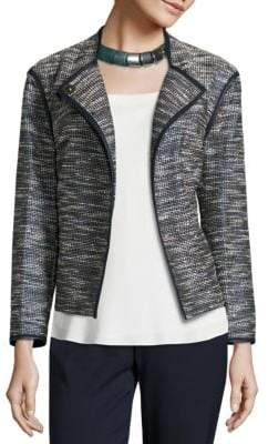 Lafayette 148 New York Dane Alta Reed Cloth Jacket