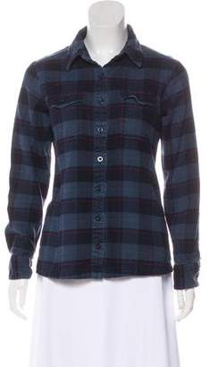Patagonia Plaid Flannel Button Up