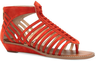 Vince Camuto Seanna Flat Sandals $110 thestylecure.com