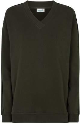 Kenzo V-Neck Logo Sweatshirt