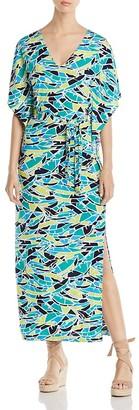 Leota Rosie Fern Print Maxi Dress $148 thestylecure.com