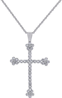 Diana M . Fine Jewelry 18K 2.20 Ct. Tw. Diamond Necklace