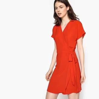 Best Mountain Short-Sleeved Straight Short Dress