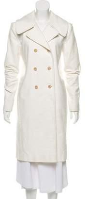 Balenciaga Knee-Length Double-Breasted Coat