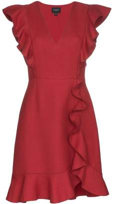 Giambattista Valli ruffle neck mini dress