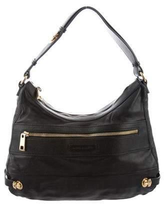 Marc Jacobs Leather Hoo Bag Black Leather Hoo Bag