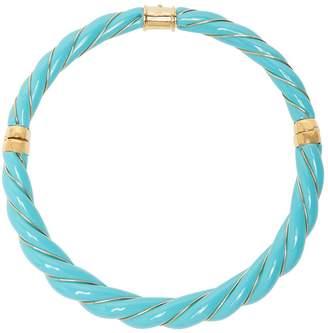 Aurelie Bidermann Diana twisted enamel necklace